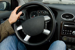 Drive a car Stock Photography