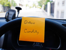Drive carefully Stock Photos