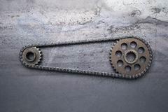 Drive Chain Royalty Free Stock Photography