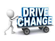 Drive change Stock Photo