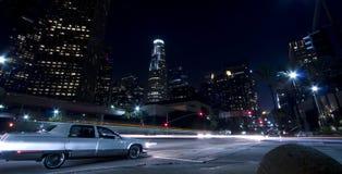Drive through the city Stock Photo