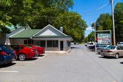 Drive-in de crème glacée de Boehringers chez Adamstown Image libre de droits
