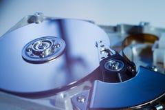 Drive del hard disk aperto Fotografia Stock