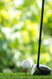 Drive golf Royalty Free Stock Photos