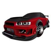 Dérive GTR personnalisée de turbo d'horizon de nissans Image libre de droits
