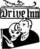 Drive Inn Stock Image