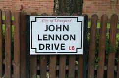 Drive του John Lennon στοκ φωτογραφία