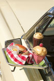 Drive-in meal Royalty Free Stock Photography