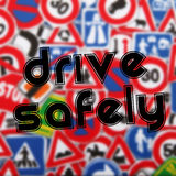 Drive safely Royalty Free Stock Image