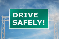 Drive Safely! concept Royalty Free Stock Photos