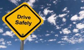 Drive safely stock illustration