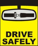 Drive safely vector Royalty Free Stock Images