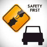Drive Safety Royalty Free Stock Photos
