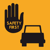 Drive Safety Royalty Free Stock Photography