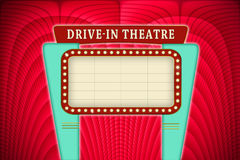 Drive in sign. Stock Photography