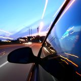 drive speed Στοκ φωτογραφία με δικαίωμα ελεύθερης χρήσης