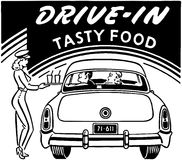 Drive-In Tasty Food Stock Images