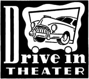 Drive-In Theater Royalty Free Stock Photos