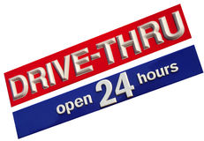 Drive Thru Royalty Free Stock Photo