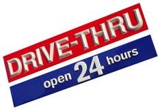Drive Thru royalty free stock photo