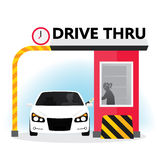 Drive thru Royalty Free Stock Images