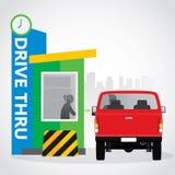 Drive thru Stock Photo