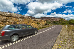 Queenstown speed drive Stock Photo