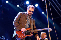 Drive By Truckers (band) in concert at Heineken Primavera Sound 2014 Festival Stock Images