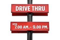 Drive true plate pole Royalty Free Stock Photo