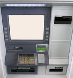 Drive Through or Walk in Bank Cash ATM  machine Stock Photo