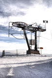 Drive wheels of a ski lift Royalty Free Stock Images