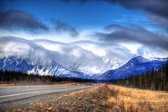 Drive Yukon Territories Canada Stock Photography