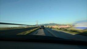 Drivelapse στην ιταλική επαρχία απόθεμα βίντεο