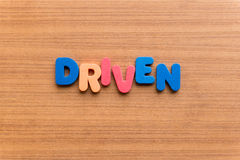 Driven Royalty Free Stock Photo