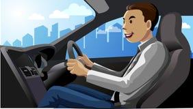driver Fotografie Stock