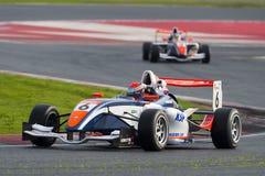 Driver Adrien Renaudin.  Championnat de France F4 Stock Images