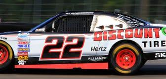 Driver AJ Allmendinger di NASCAR Fotografia Stock