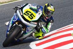 Driver Alejandro Medina Team Stratos FIM CEV Repsol Fotografia Stock