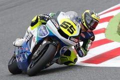 Driver Alejandro Medina. Team Stratos. FIM CEV Repsol Royalty Free Stock Images