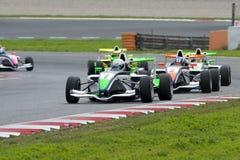 Driver Aleks Karkosik.  Championnat de France F4 Stock Image
