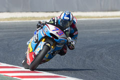 Driver ALEX MARQUEZ. Estrella Galicia Team. Monster Energy Grand Prix of Catalonia Stock Image