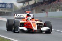 Driver Alfonso Celis. Formula V8 3.5 Royalty Free Stock Image