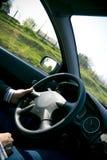 Driver alla rotella Fotografia Stock Libera da Diritti