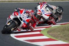 Driver Andrea Dovizioso. Ducati Team Royalty Free Stock Photo