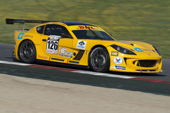 Driver Andrea Marchesini. GT Cup Royalty Free Stock Image