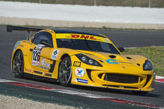 Driver Andrea Marchesini. GT Cup Royalty Free Stock Photo