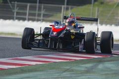 Driver Antoni PTAK. Dallara F312. Euroformula Open. International GT Open. Royalty Free Stock Image