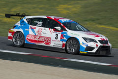 Driver Antonio Aristi. GT Cup royalty free stock photo