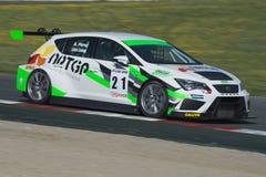Driver Antonio Perez. Clio Cup stock photo