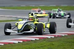 Driver Arthur Rougier.  Championnat de France F4 Stock Photography
